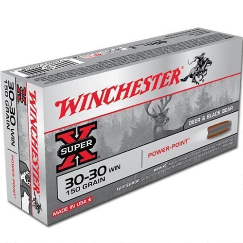 Winchester Super-X Power-Point 30-30 Winchester 150 Grain JSP