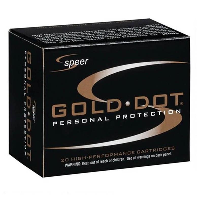 Speer Gold Dot 45 Long Colt Ammo 250 Grain JHP