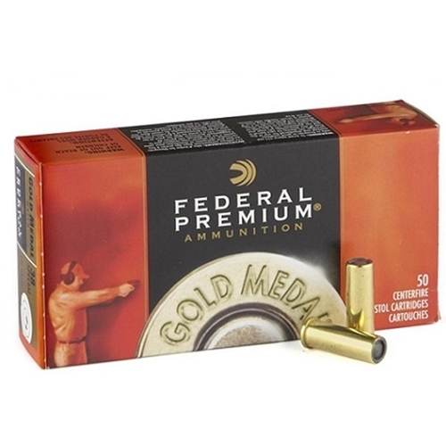 Federal Premium Gold Medal 38 Special Ammo 148 Grain Match Wadcutter
