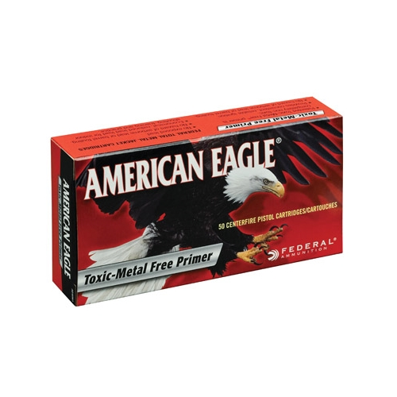 Federal American Eagle 9mm Luger Ammo 124 Grain TMJ