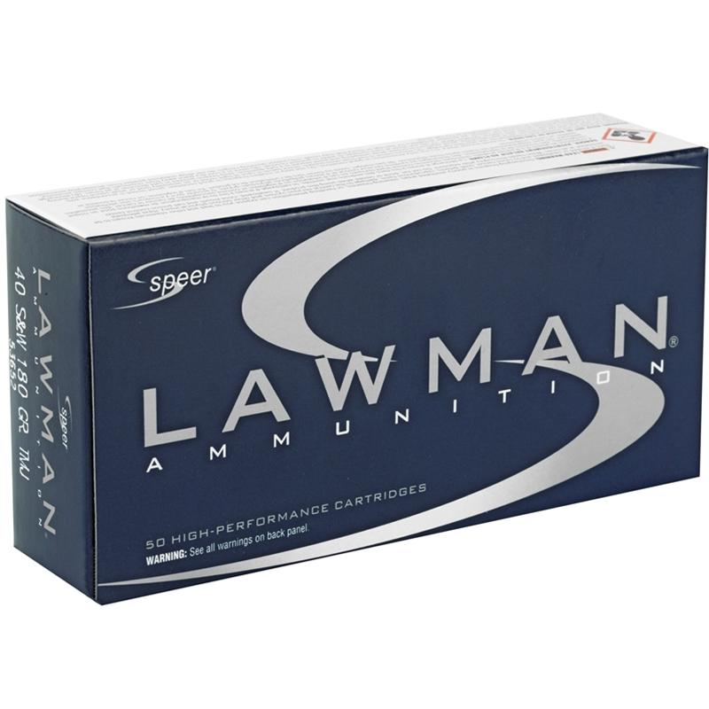 Speer Lawman 32 ACP AUTO Ammo 71 Grain TMJ