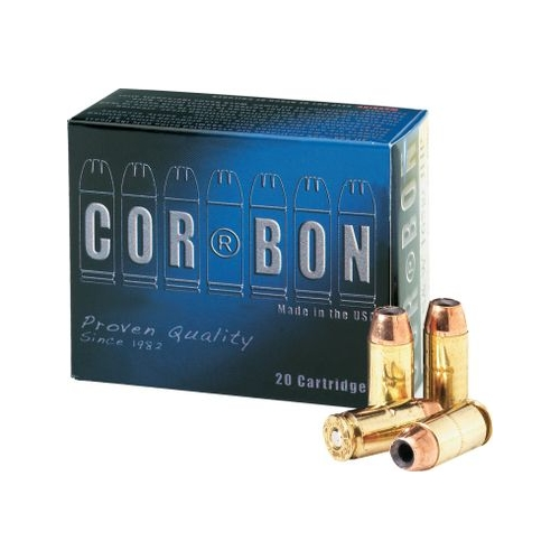 Cor-Bon Self-Defense 9mm Luger Ammo +P 125 Grain JHP