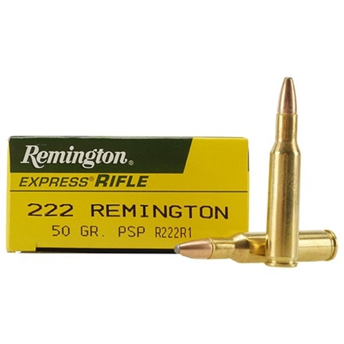Remington Express 222 Remington 50 Grain Pointed Soft Point