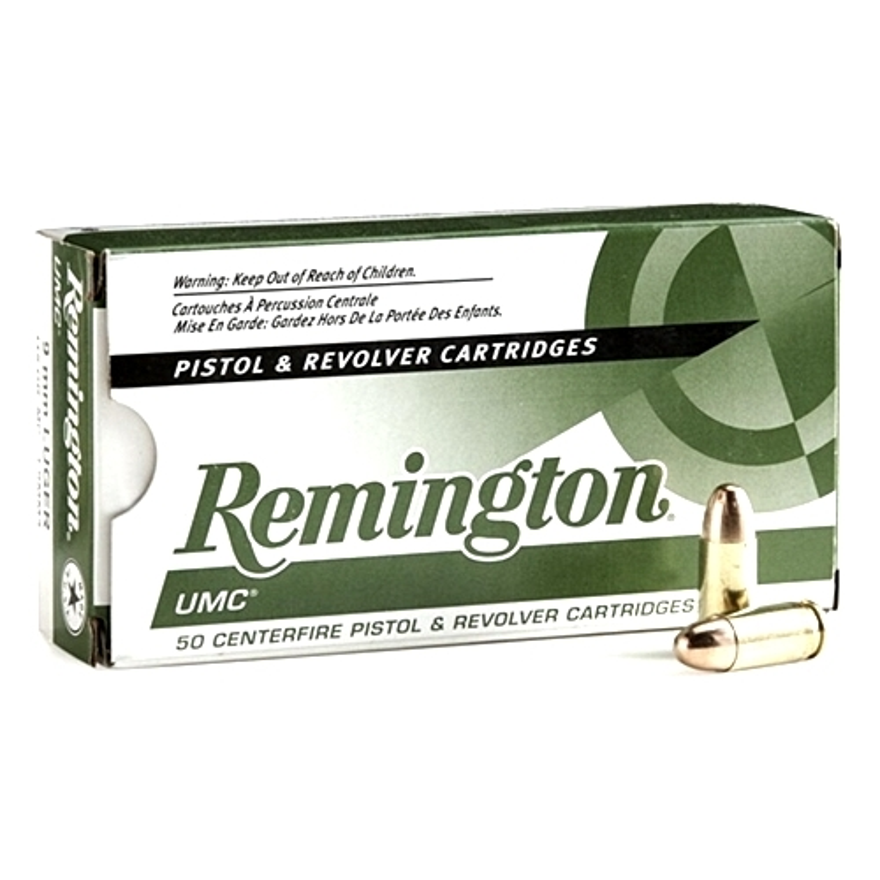 Remington UMC 38 Super +P 130 Grain Full Metal Jacket