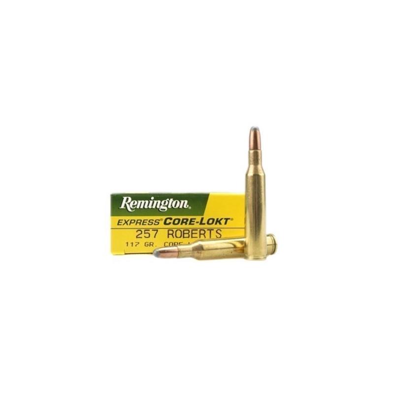Remington Express 257 Robert Ammo 117 Grain Core-Lokt Soft Point