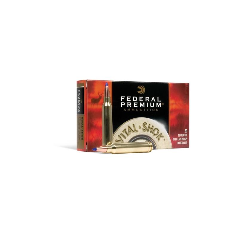 Federal Premium Vital-Shok 257 Roberts +P 120 Grain Nosler Partition Ammunition