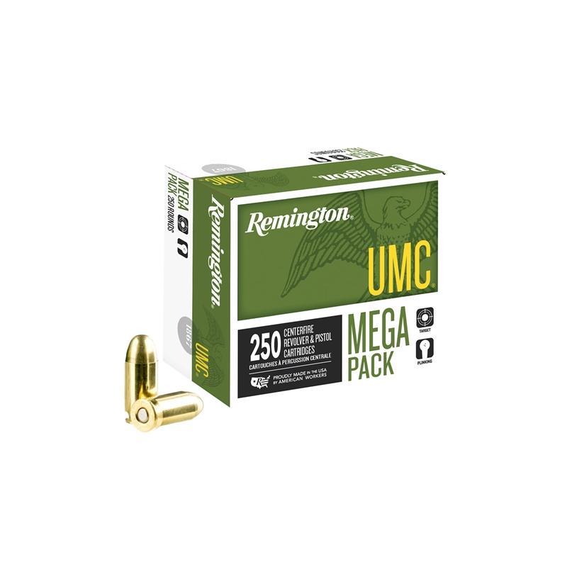 Remington UMC 45 ACP Auto Ammo 230 Grain FMJ Mega Pack