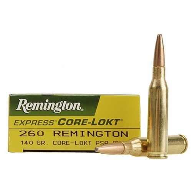 Remington Express 260 Remington 140 Grain Core-Lokt PSP