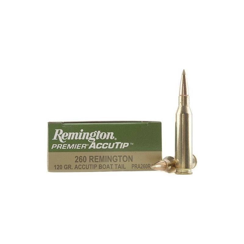 Remington Premier 260 Remington 120 Grain AccuTip Boat Tail