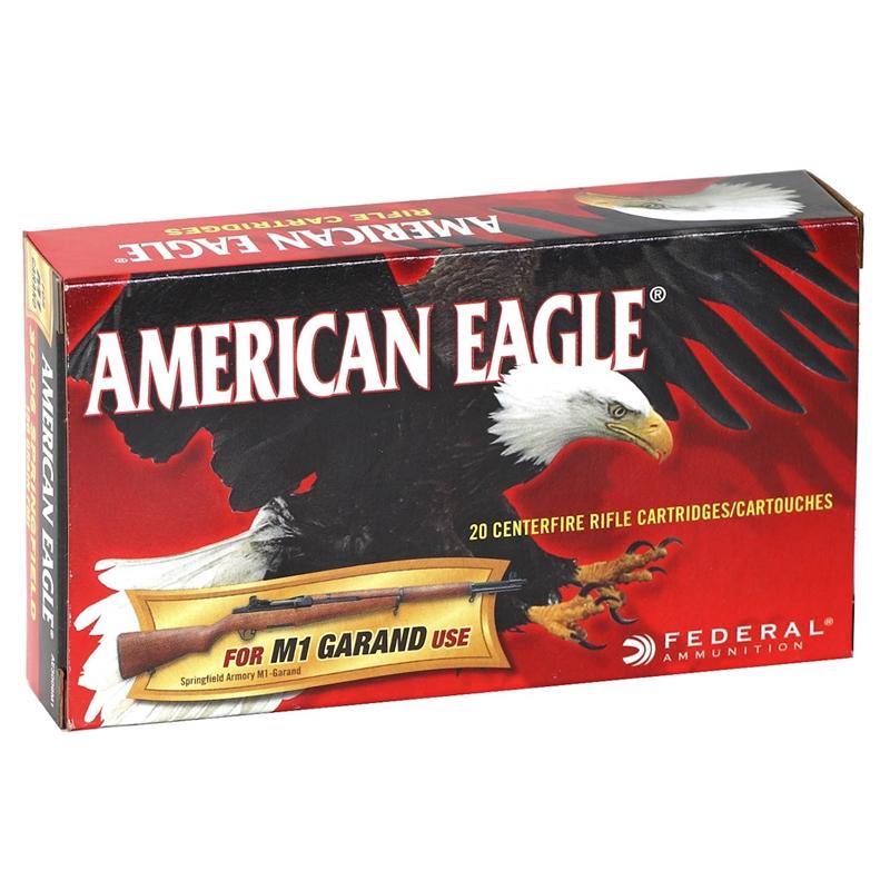 Federal American Eagle 30-06 Springfield (M1 Garand) 150 Gr FMJ