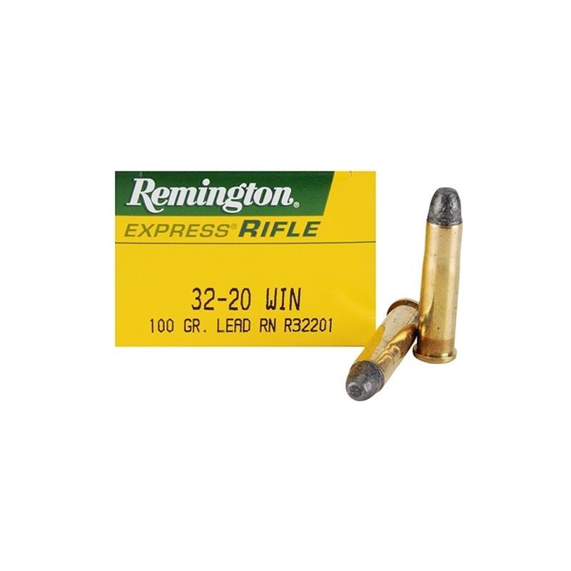 Remington Express 32-20 WCF 100 Grain Lead Flat Nose
