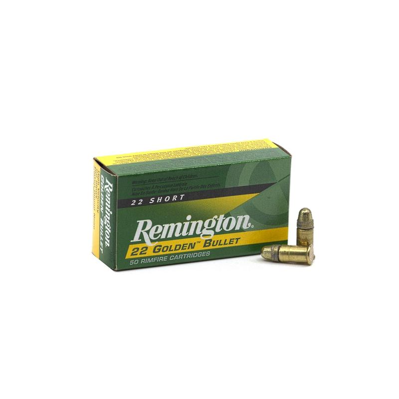 Remington Golden Bullet 22 Short Ammo High Velocity 29 Grain PLRN