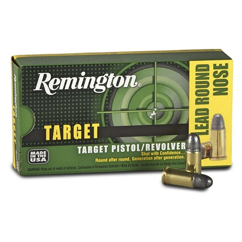 Remington Express 38 S&W Ammo 146 Grain Lead Round Nose