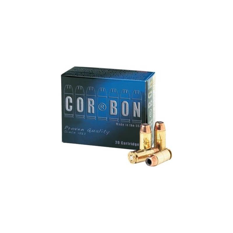 Cor-Bon Self-Defense 357 SIG Ammo 125 Grain Jacketed Hollow Point