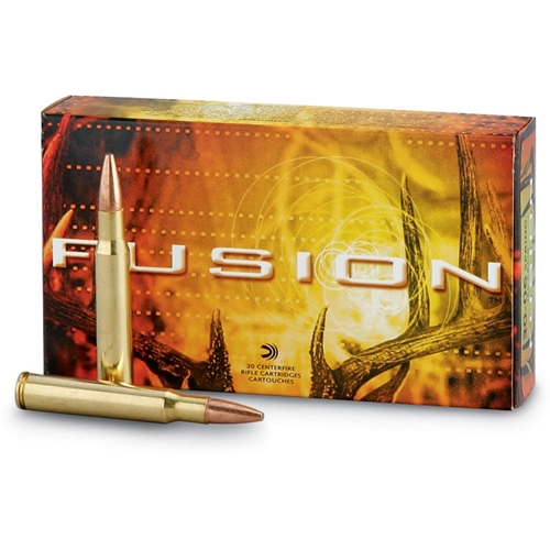 Federal Fusion 300 Winchester Magnum Ammo 165 Grain Bonded Spitzer Boat Tail