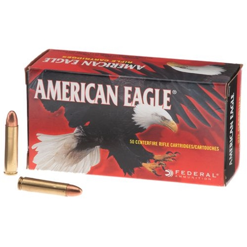 Federal American Eagle 30 Carbine Ammo 110 Grain FMJ