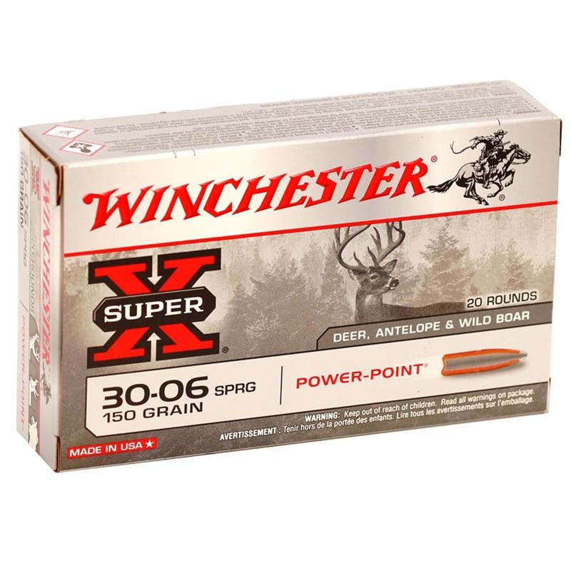 Winchester Super-X 30-06 Springfield 150 Grain Power Point