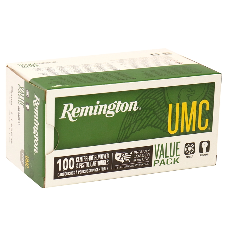 Remington UMC 9mm Luger Ammo 115 Grain Full Metal Jacket Value Pack