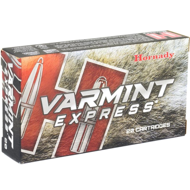 Hornady Varmint Express 223 Remington Ammo 55 Grain V-Max