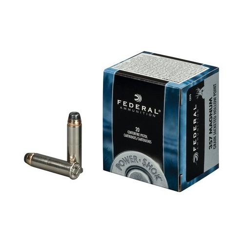 Federal Personal Defense 357 Magnum Ammo 158 Grain JHP
