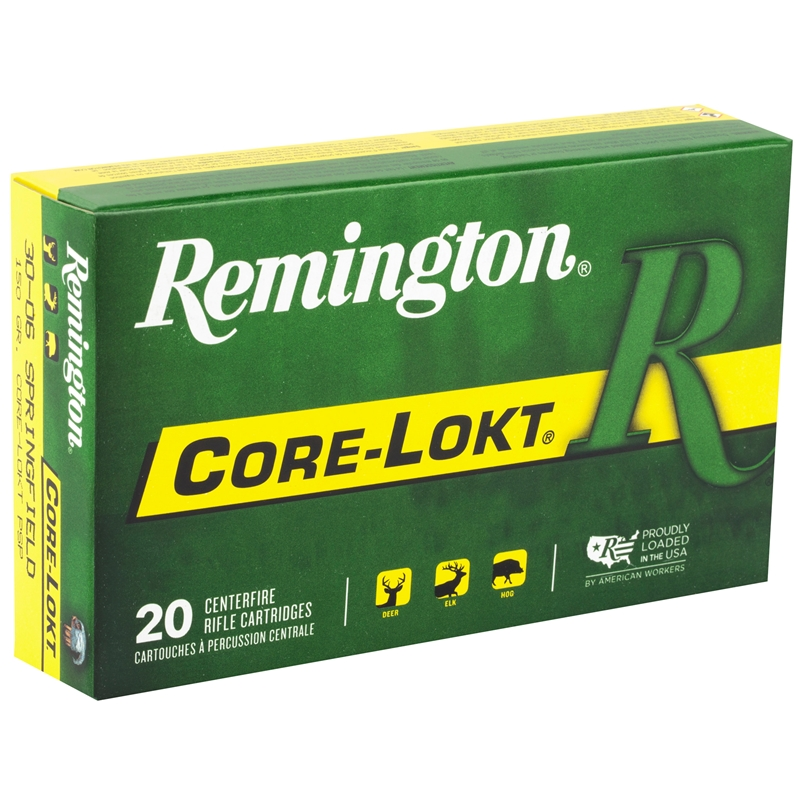 Remington Express 30-06 Springfield 150 Grain Core-Lokt PSP