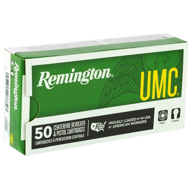 Remington UMC 40 S&W Ammo 180 Grain Full Metal Jacket
