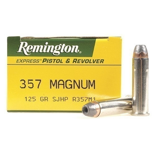Remington Express 357 Magnum Ammo 125 Grain SJHP