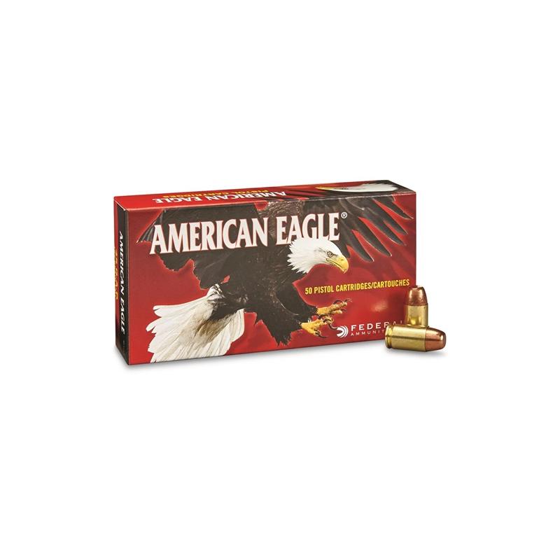 Federal American Eagle 45 GAP Ammo 185 Grain FMJ
