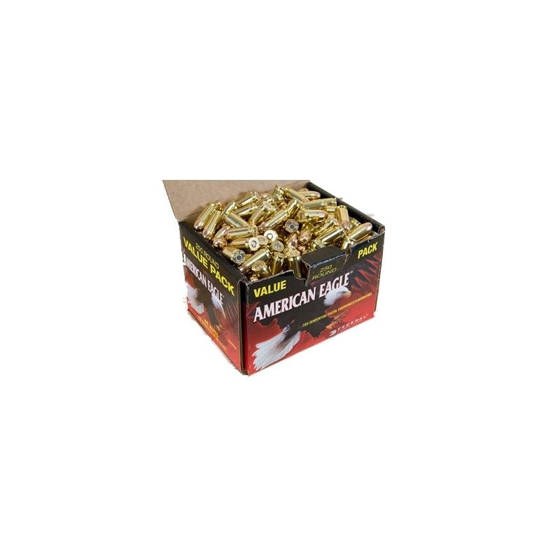 Federal American Eagle 45 ACP Auto Ammo 230 Grain FMJ Value Pack