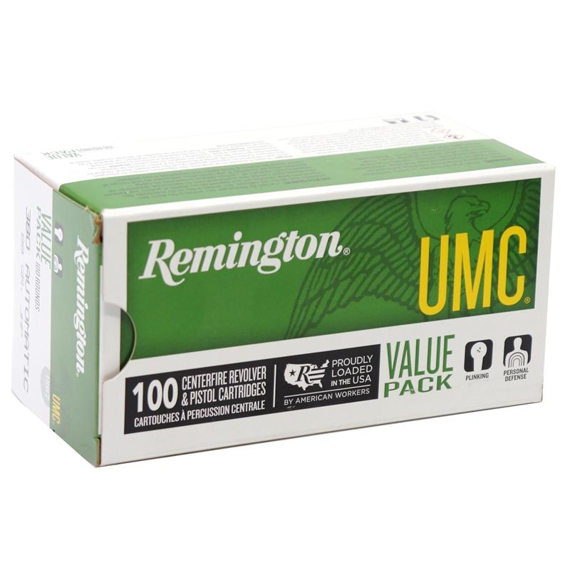 Remington UMC 380 ACP Auto 88 Grain JHP Value Pack