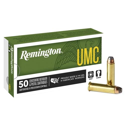 Remington UMC 357 Magnum Ammo 125 Grain Jacketed Soft Point