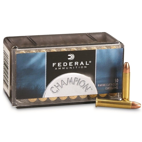 Federal Champion Target 22 WMR Ammo 40 Grain FMJ