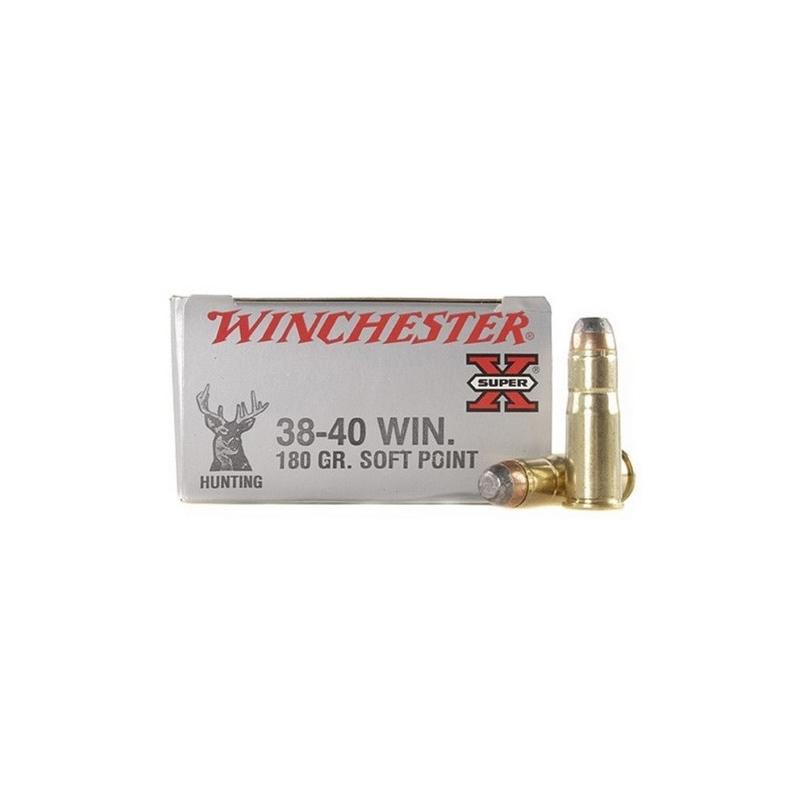 Winchester Super-X Rifle 38-40 WCF 180 Grain Soft Point