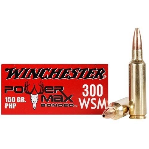 Winchester Super-X Power Max 300 WSM 150 Grain BPHP