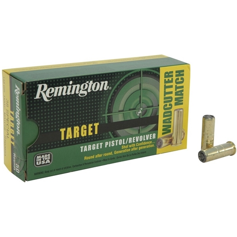 Remington Target 38 Special 148Grain Target Master Lead Wadcutter
