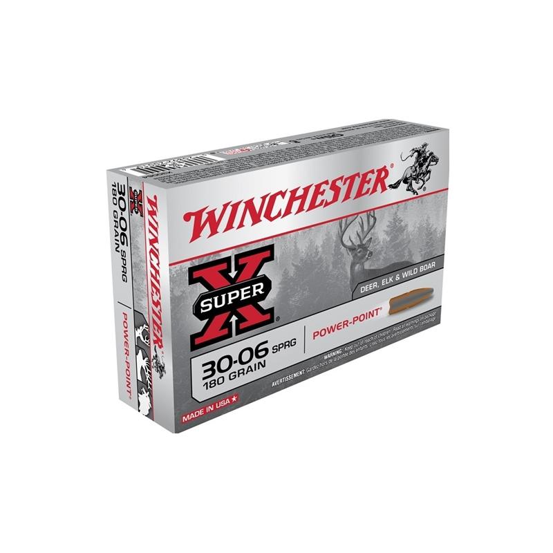 Winchester Super-X 30-06 Springfield 180 Grain Power-Point