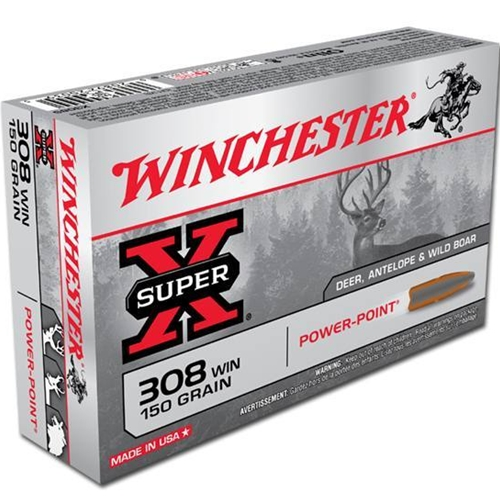 Winchester Super-X 308 Winchester 150 Grain Power Point