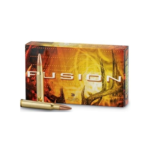 Federal Fusion 308 Winchester Ammo 165 Grain Spitzer Boat Tail