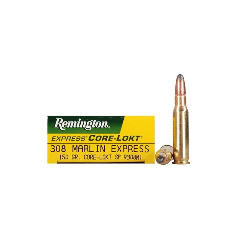 Remington Express 308 Marlin Express Ammo 150 Grain Core-Lokt SP