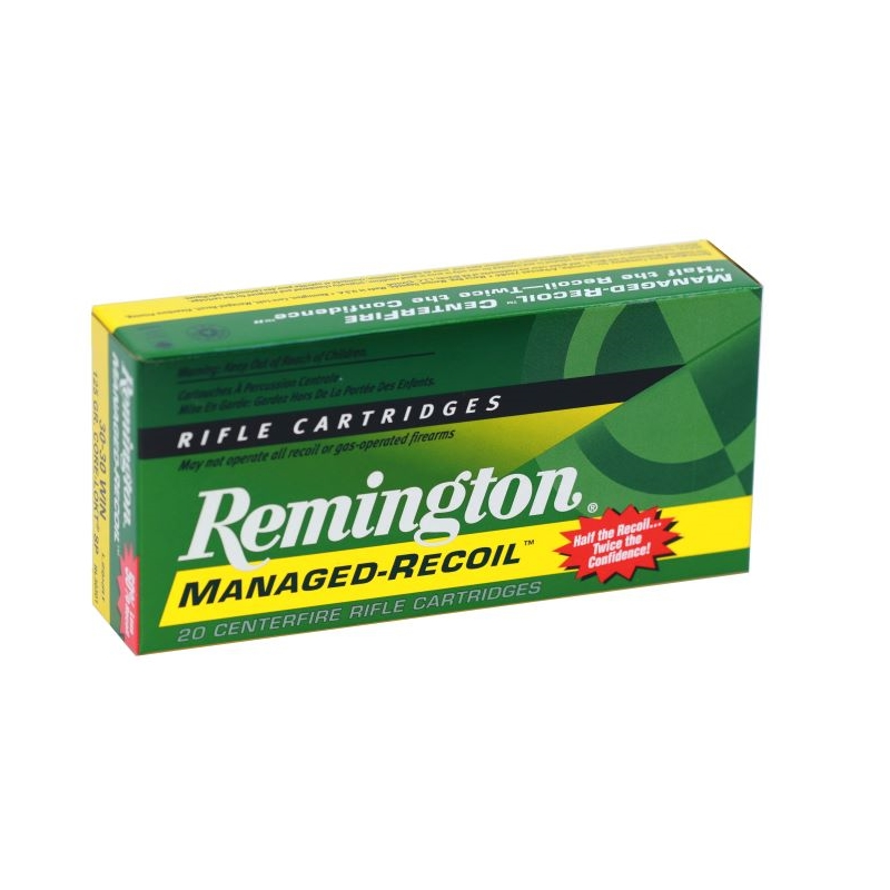Remington Managed Recoil 30-30 Winchester Ammo 125Gr Core-Lokt SP