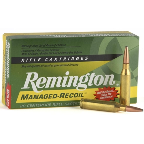 Remington Managed Recoil 30-06 Springfield 125 Gr Core-Lokt PSP