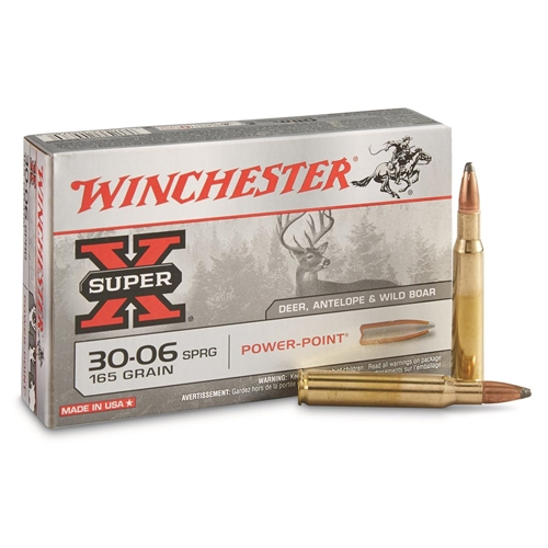 Winchester Super-X 30-06 Springfield 165 Grain Pointed Soft Point