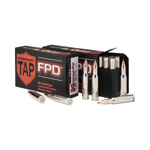 Hornady TAP-FPD 308 Winchester Ammo 110 Grain BTHP