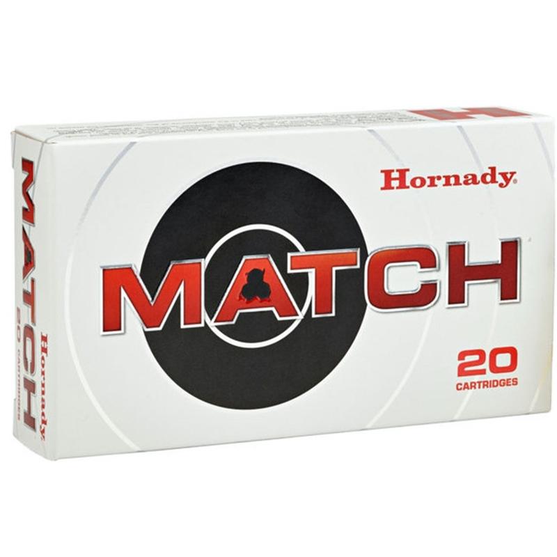 Hornady Custom 308 Winchester Ammo 168 Grain Match HPBT