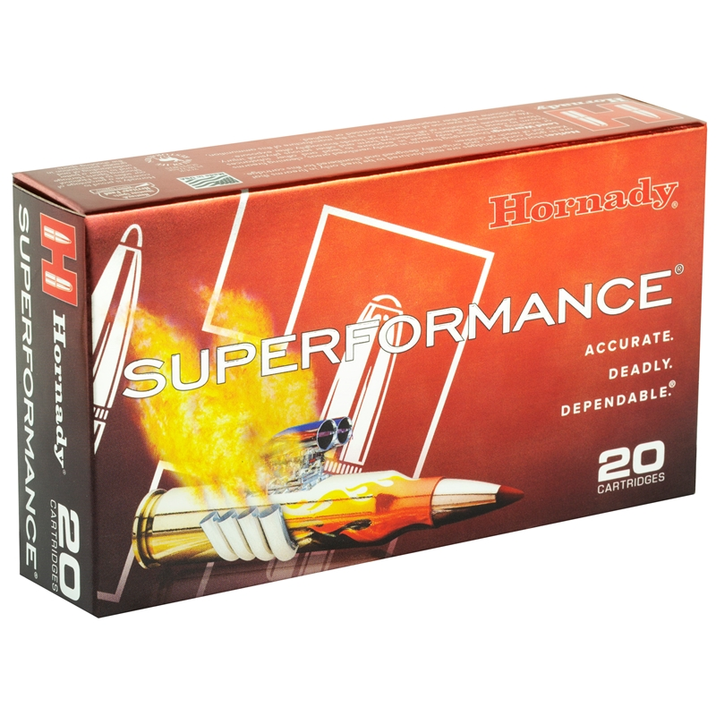 Hornady Superformance Ammo 308 Winchester 165 Grain SST