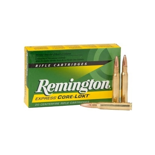 Remington Express 375 H&H Magnum 270 Grain Soft Point Boat Tail