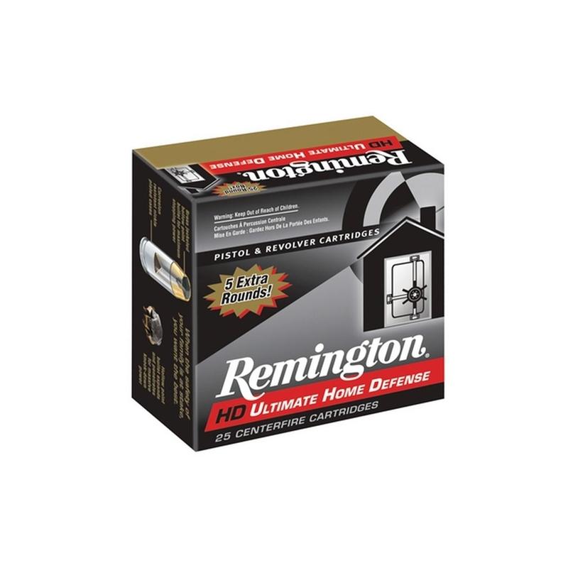Remington Ultimate Home Defense 38 Special +P 125 Grain Brass JHP