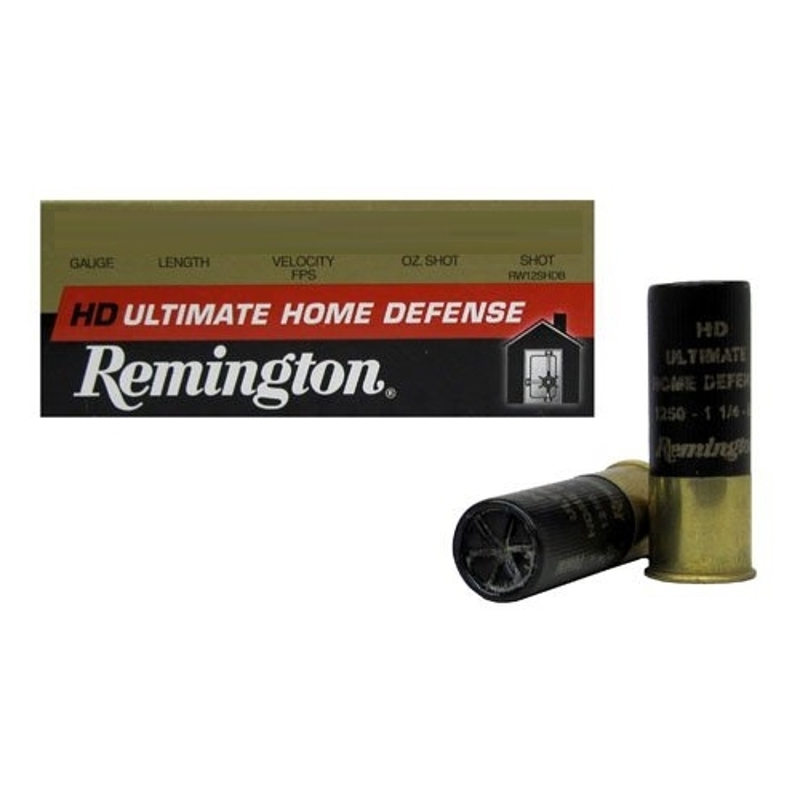"Remington Ultimate HD 12 Gauge Ammo 2-3/4"" 1-1/4 oz BB Shot"