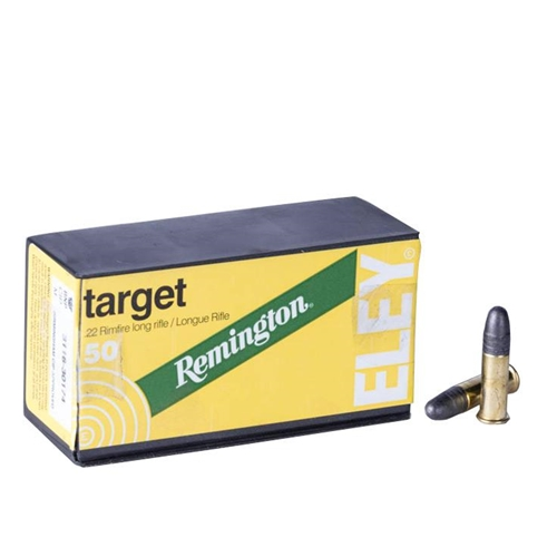 Remington Eley Target 22 Long Rifle Ammo 40 Grain LRN