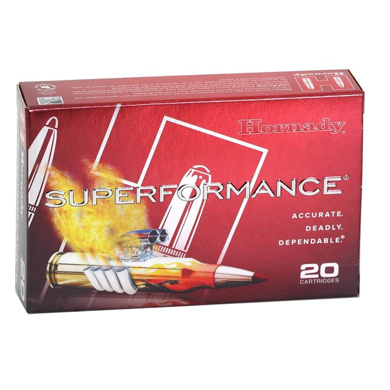 Hornady Superformance 30-06 Springfield Ammo 180 Gr SST